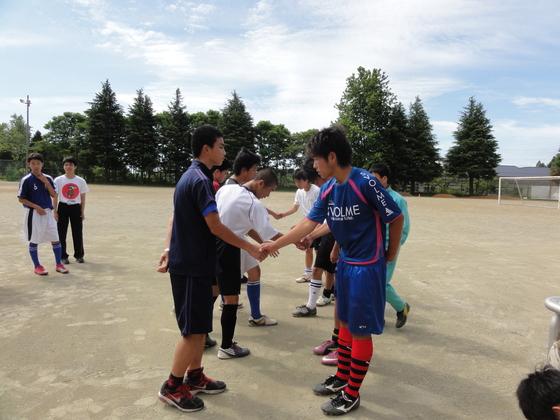 被災地の中高生とのサッカーチャリティーマッチを開催したい!