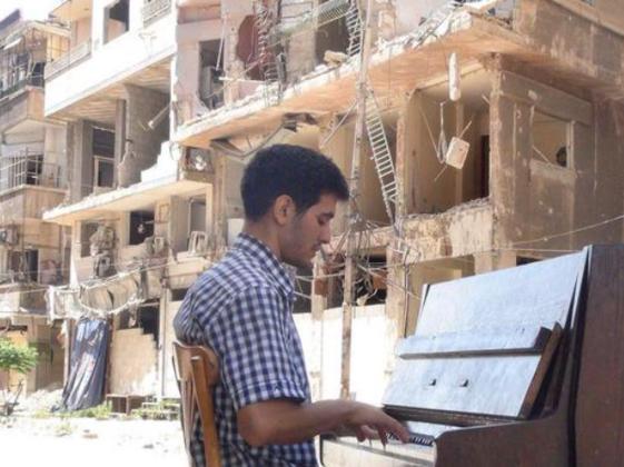 シリア、戦火のピアニストを日本へ!今シリアに希望を届けたい。