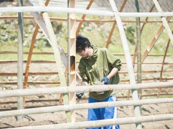 自然と人、人と人とがつながる「竹ハウス」をみんなで作りたい!
