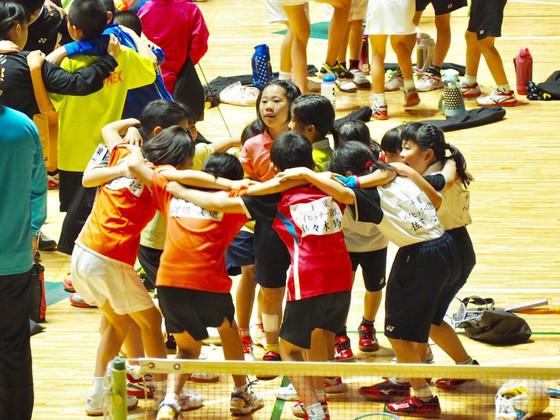 千葉ベイエリアの小学生バドミントンチーム、念願の大会出場へ!