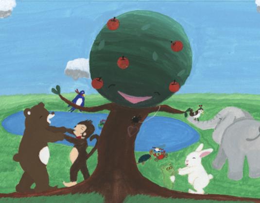 親子の心を繋ぐ絵本「イートンと森のどうぶつたち」を出版したい