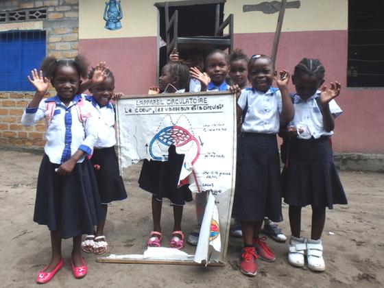 【アフリカ支援してみませんか?】コンゴの子どもに教育を!