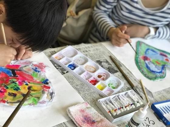 第三弾!児童養護施設の子ども達を招き、アートキャンプを実現!