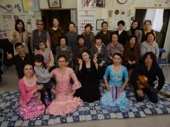 被災地に生きる活力を。宮城県女川町でフラメンコライブを開催!