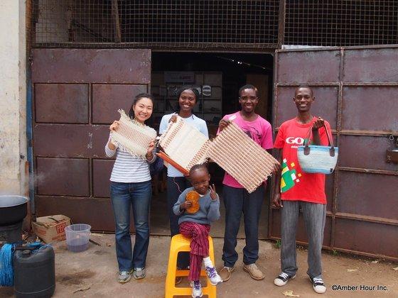 ケニアの貧困地域で女性たちの生活を豊かにする織り工房を作りたい!