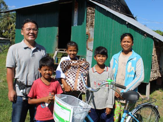 教育のチャンスを守る。カンボジアの子ども達に通学用自転車を!