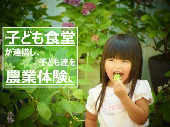 東京北区の子ども食堂に通う子ども達を農業体験へ!