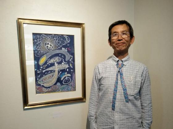 全世界に日本文化の言霊を、アートを通じて広めたい!