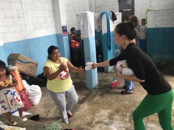 グアテマラ火山噴火の被災者の方々へ食料とキズ薬を届けたい