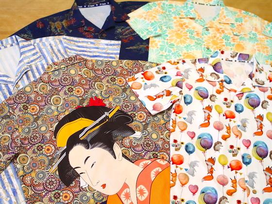 残存率2%の国内縫製工場が作る、新感覚のアロハシャツを届けたい!