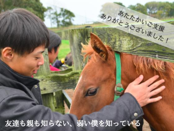 セリで他に買い手がない1歳馬を購入し、学生たちと競走馬デビューへ