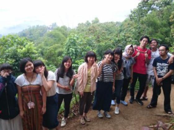 都内のユネスコスクール有志生徒がインドネシアの孤児院で活動