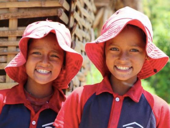 無限大にふくらむ夢の学校を、ぼくの故郷ネパールに。