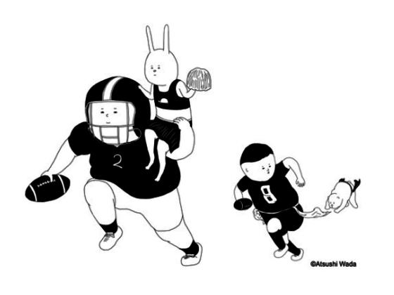 アニメーション作家・和田淳が「日本のアメフト」振興に挑戦!