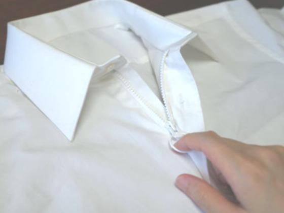 障がい者や高齢者にも着やすいシャツを!前田まゆみの挑戦!