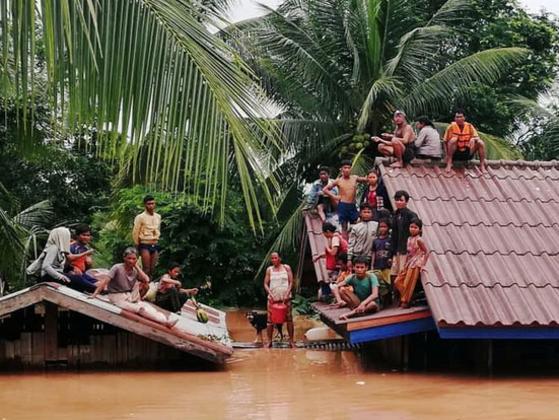 【緊急支援金】ラオスのダム決壊で数千人が家を喪失