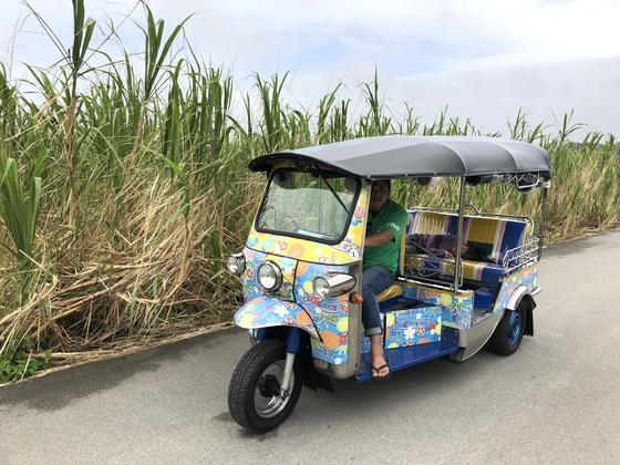 トゥクトゥクで、沖縄本島南部の穴場「八重瀬町」の魅力を発信!