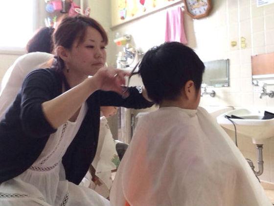 ハッピーカットプロジェクト!児童養護施設を素敵な美容室に!