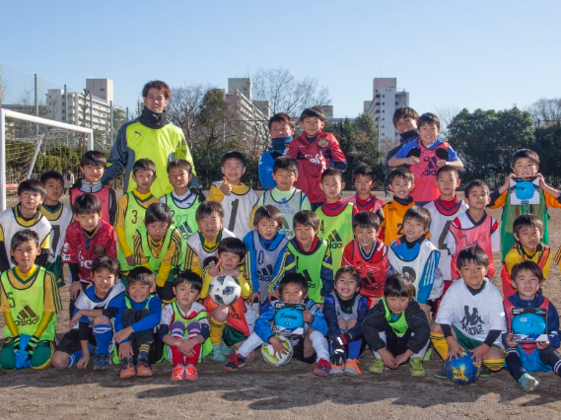 子供達を参加費無料でJリーガーのサッカー教室に招待したい!