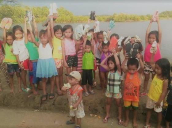 """""""靴""""を通して、フィリピンの子どもたちの命を繋ぐ架け橋へ!"""