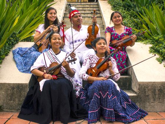 伝統音楽を次世代へ!邦楽とオアハカ先住民の音楽の交流を徳島で
