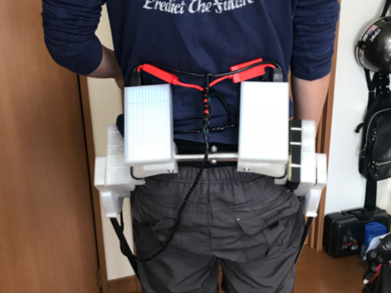 歩行アシストパワードスーツの開発