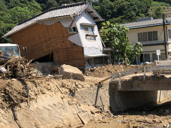 西日本豪雨復興支援・長崎から広島小屋浦へ~精霊船を運びます!