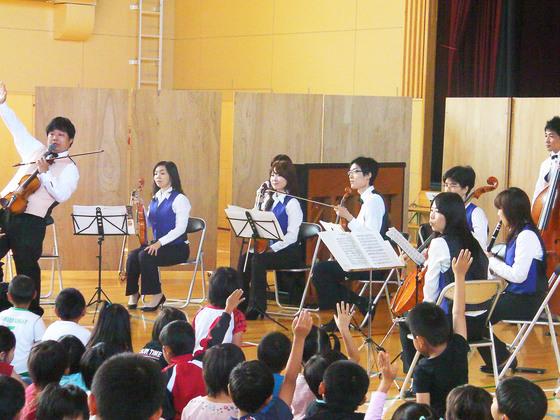 東北の幼稚園に震災復興支援コンサートをプレゼントしたい!