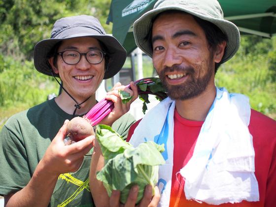 コーヒー豆のカスから生成した土から安全な野菜・牛乳を作りたい