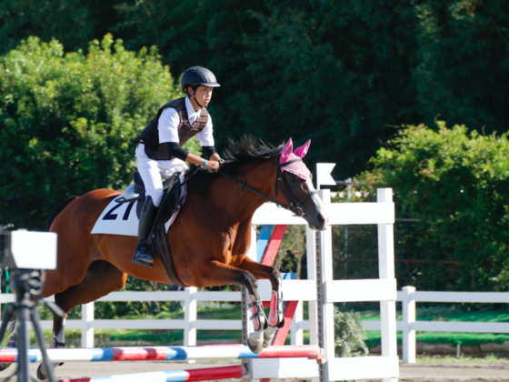 引退馬と若者の活躍の場を提供したい!全国高校生馬術選手権大会