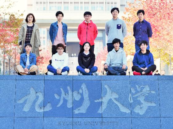 九州大学12学部の代表による、高校生のためのプレゼンショー!
