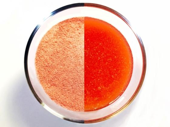 砂糖不使用で低カロリー、水だけで作れる「粉ジャム」の製品化