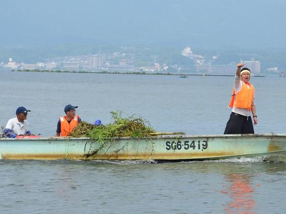 大学生の力で琵琶湖をオオバナミズキンバイから守りたい!