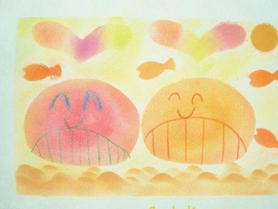 留守家庭の子どもたちから大切なあなたへ贈る『お手紙アート®』