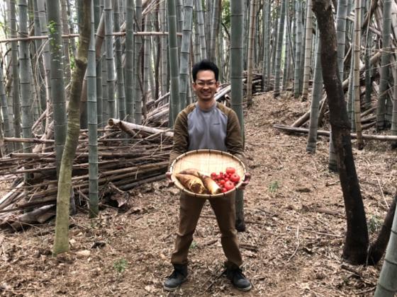 トマトを食べて竹林をエネルギーに!「食」が起点の循環型社会。