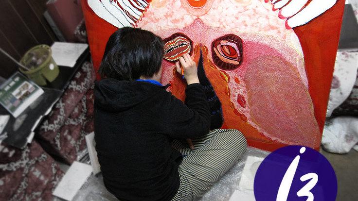医療を伝えるアート