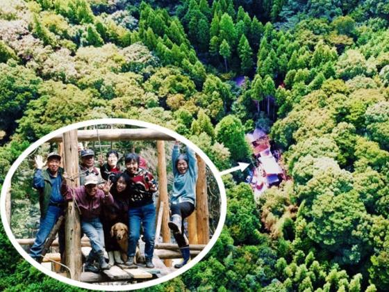 """苦節25年、森の中の自然体験の場""""里乃駅""""をオープンしたい!"""
