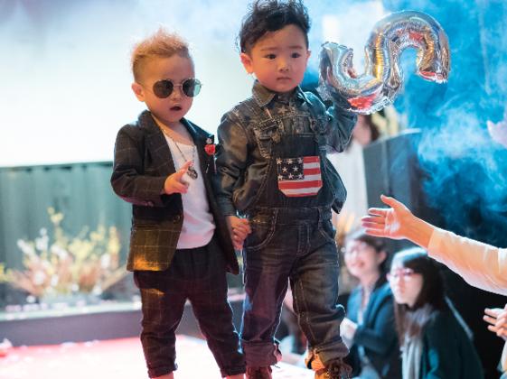 Senseを磨く保育園による子どものファッションショーを開催