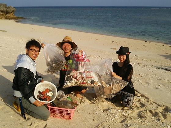 鹿児島与論島に漂着したゴミを油化装置でエネルギーに再変換!