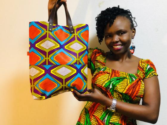 私の故郷であるケニアで作った商品を扱うブランドを立ち上げたい