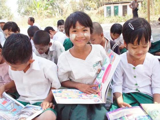 夜間学校で勉強できる喜びをミャンマーの子どもたちに届けたい!