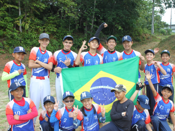 アマゾンの野球少年達の夢を叶える!