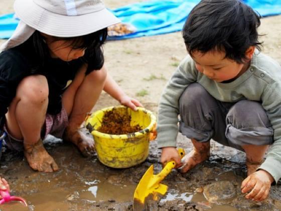 秋田の子供達が自由に冒険できるプレーパークにトイレを作りたい