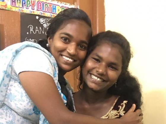 食の支援を通してインドのHIV感染した女の子達を守りたい!