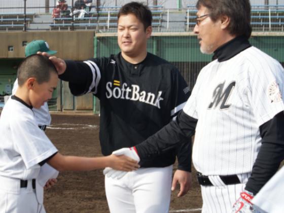 プロ野球OB選手が被災地や施設の夢を持つ子どもたちの架け橋に