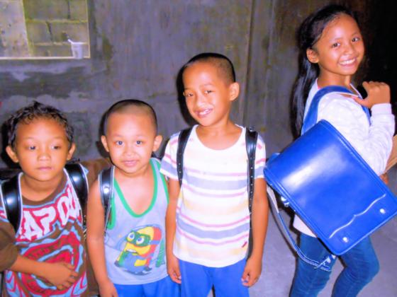 フィリピン ミンダナオ島の子ども達にランドセルを!