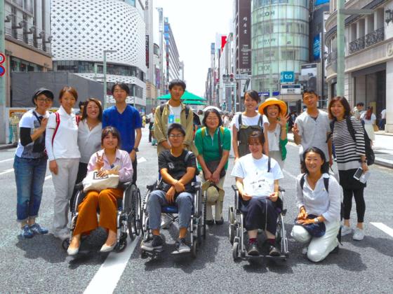 """""""ゆめ旅""""学生企画☆ボッチャで一歩!車いす1万人プロジェクト"""