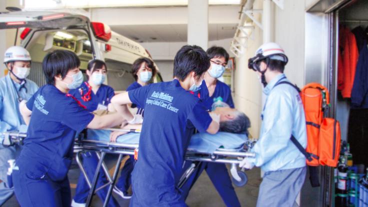 大阪府三島救命救急センター:命と向き合う現場を存続させたい。