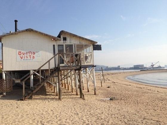 愛媛県松山市の海の家を改築し、湘南のような景色を実現したい!
