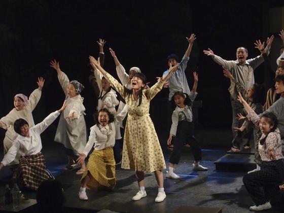 北海道で地域住民参加の演劇公演の舞台セットを作りたい